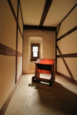 Luther's room in the St. Augustine's Monastery in Erfurt