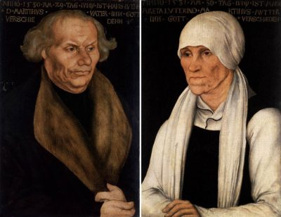 Luther's parents